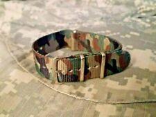 Cinturino Orologio 20 mm army watch nylon strap band correa reloj nato hebilla