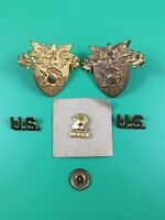Rare USMA West Point Military Academy 1937 Pin Cadet Hat Badge Button Collection