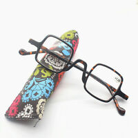 Vintage Reading Glasses Spring Hinges Square Readers 1.0 1.5 2.0 2.5 3.0 3.5
