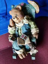 Teddy Bear Rocker Music Box Perfect for Little Boy's Room