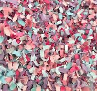 Mermaid Pastel Rainbow BIODEGRADABLE Tissue Paper WEDDING CONFETTI Flutterfall