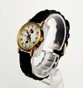 """RARE,UNIQUE Women's Vintage 1993 Watch PULSAR """"Minnie Mouse"""" V810-0270. MOP Dial"""
