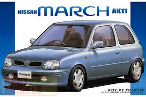 1:24 Scale Fujimi Nissan Micra March K11 Model Kit #612p