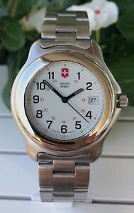 Swiss Army Officers 1884 Stainless Steel ref.24205