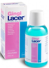 Lacer Gingilacer Mouthwash 200ml - Alcohol Free - Mint Flavored - Free Shipping