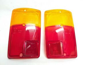 Plastic Fiat 126/126 Bis / 126 Fsm Pair Lights Rear Made IN Italy