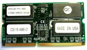 CISCO, CIS-15-4988-01, MEM-MSFC2-512MB, MEM-S2-512MB, Catalyst 6500 Dram Memory