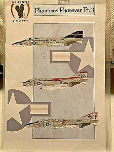 1/48 Eagle Strike 48008 F-4 Phantom Phorever PT 3 Decals