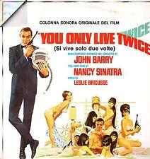 YOU ONLY LIVE TWICE-Si Vive Solo Due Volte (J.Barry) 1967 Vinile-Mint Film LP