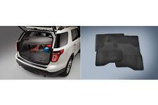 2016 Ford Explorer Rubber All Weather Floor Mat & Cargo Area Protector Liner OEM