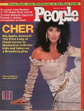 People Weekly January 25 1982 Cher, John Madden VG 012716DBE