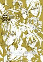 WIT STUDIO Owari no Seraph of the End official Line Illustration Art Book 2 NEW