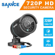 SANNCE 1x 720P HD 1500TVL Outdoor Home CCTV Security Camera IR CUT Weatherproof
