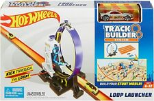 Hot Wheels DMH51 Track Builder Connectable Loop Launcher Set with Diecast and Mi