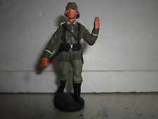 Elastolin Lineol german Wehrmacht soldier pionier for carry with rifle Wwii