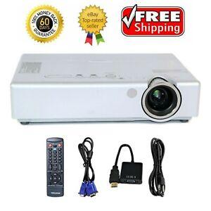 Panasonic PT-LB60NTU 3LCD Projector Wireless 3200 Lumens HDMI-adapter w/bundle