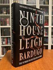 Ninth House - Leigh Bardugo - SIGNED 1st UK Edition - Fantasy (Stephen King)