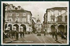 Catania Città Auto Foto cartolina VK0399