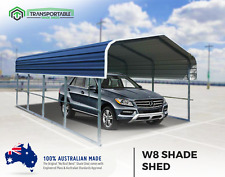 4x6 Car Shade Boat Shelter Carport Shed Garden Backyard Garage Caravan Cover DIY