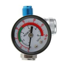 Spray Gun Mini Air Regulator Gauge Paint Adjustable Dial 1/4 HVLP Compressor