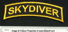 Set of 2 SKYDIVER Patches for Skydiving Parachute Container T-Shirt Cap Rig 25Q
