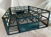 Vintage Or Antique Rare Pepsi-Cola Cutouts Heavy Wire Metal Crate Carrier Tray