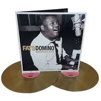 Fats Domino Greatest Hits 180G 2 LP Gold Vinyl Record Blueberry Hill