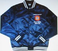 USCGC TAMPA  WMEC-902  COAST GUARD EMBROIDERED 1-SIDED SATIN JACKET