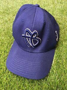 Vintage FUBU Initials FB Logo OSFA Hat Cap 90s flex liner