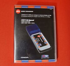 ONDA ET502 HS MODEM MOBILE  7,2MBps PCMCIA MODEM HSPA+ MOBILE  3G - GAR. 24 MESI