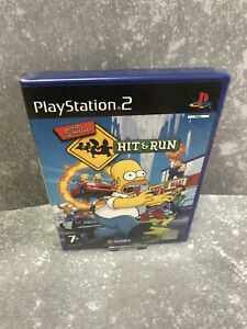 The Simpsons Hit and Run Ps2 ♡ Brand New Case ♡ Sealed