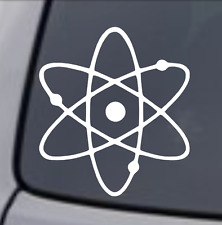 ATOMIC SYMBOL Vinyl Decal Sticker Car Window Wall Bumper Laptop Macbook jdm dope