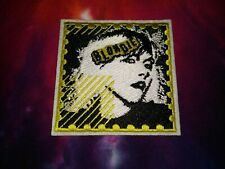 Blondie Yellow Black & White Logo 3 x 3 Inch Iron On Patch
