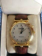 CHEROKEE Croma GLO Men's Quartz Watch, - Gold Tone new battery Glow in dark