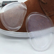 Silicone Gel Ball Foot Cushion Insoles Metatarsal Insert Pad Shoe Transparent HT