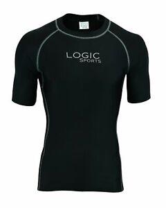 Logic Mens Half Sleeve Compression Running Base Layers Half Sleeve Top