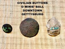 Buttons & Bullet- From Downtown Gettysburg.