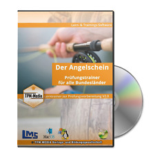 Angelscheinprüfung - Fischereischein- Fragentrainer + FAQ-Datenbank (Windows)