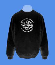 Pullover Sweatshirt Herr Pulli Sign of Liberty Berlin Herzgranate S L XL XXL