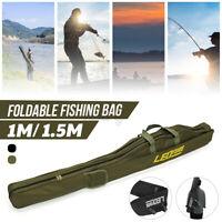 Fishing Rod Bag Reel Tool Oxford Cloth Shoulder Storage Case Tackle Backpack