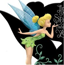 Tinker Bell Leave a Little Sparkle Wherever You Fairy Figurine Disney Tink Pixie