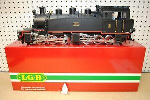 LGB 23851 BEG II Hanomag Black Mallet 0-6-6-0 Steam Locomotive *G-Scale*