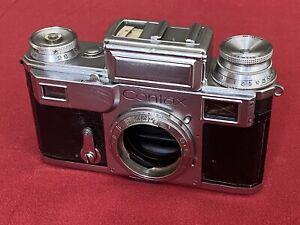 1938 German Zeiss Ikon CONTAX III Camera Body, Serviced, Works