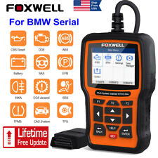 FOXWELL NT510 Elite Full System SRS ABS DPF OBD2 Diagnostic Scanner Tool For BMW