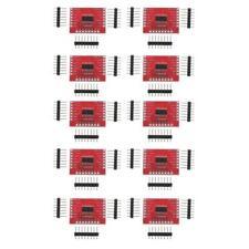 10 Pieces 74HC595 8-Bit Shift Register DIP-16 IC Breakout PCB Board