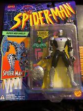 Toy Biz 1994 Spider-Man New Animated Series SPIDER-MAN Super Web Shield