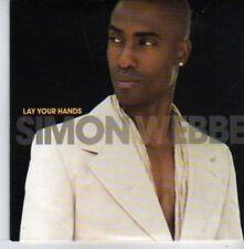 (AQ437) Simon Webbe, Lay Your Hands - DJ CD