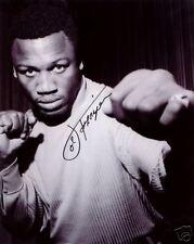 Joe Frazier Boxing Champ SIGNED 8x10 Photo COA!