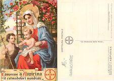 Milano - Madonna delle Rose PUBBLICITARIA ASPIRINA ANNO 1932 (S-L XX59)
