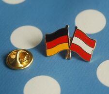 Freundschaftspin Deutschland Österreich Pin Anstecker Button Badge Flaggenpin